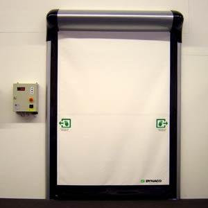 Скоростные ворота Dynaco D-313-LF Cleanroom
