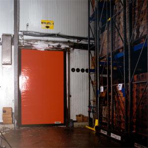 Скоростные ворота Dynaco M2 Freezer.