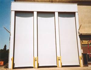 Скоростные ворота Dynaco M3 All Weather.
